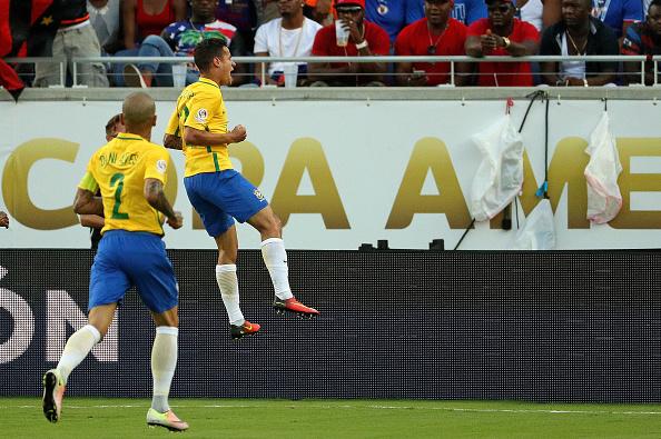 O ilusório 7 a 1: Coutinho faz três e Brasil goleia Haiti