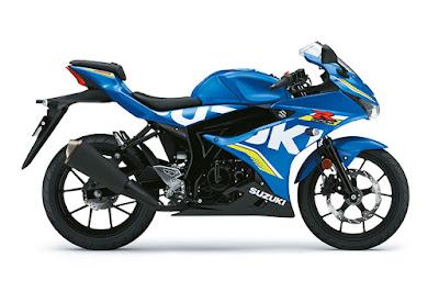 Suzuki GSX-R125 Metallic Triton Blue
