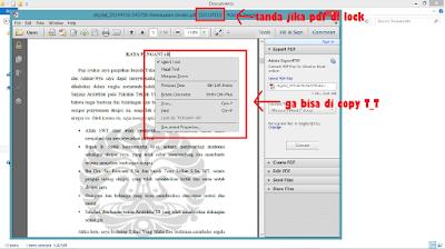 Cara membuka File PDF yang terkunci ( SECURED