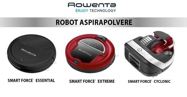 clicca qui per candidarti come tester del robot aspirapolvere Smart Force Rowenta