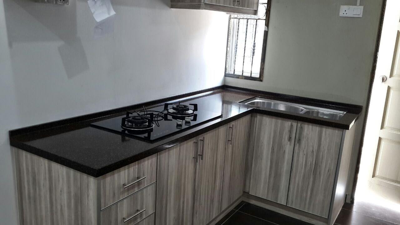 Cerah Agar Dapur Rumah Tidak Menampn Sempit Utk Menambahkan Lagi Seni Hias Kabinet Ni Kami Meletn 2 Pintu Cermin Di Atas Penyedup Asap