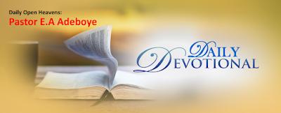 Open Heavens:-Under a Divine Curse? by Pastor E.A Adeboye
