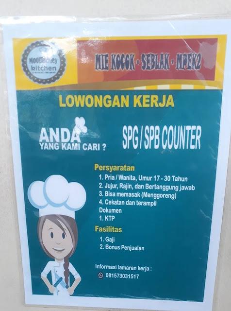 lowongan kerja SPG Counter Bandung