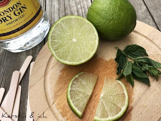 Gin Tonic Limette Minze