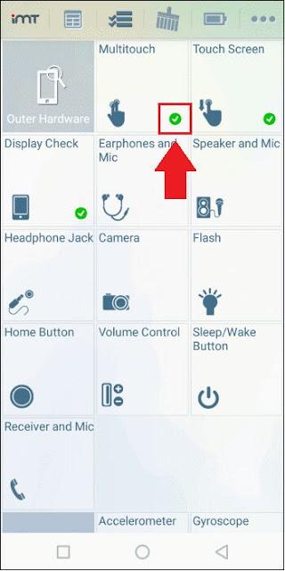 Mengecek kondisi smartphone bekas tanpa dibongkar