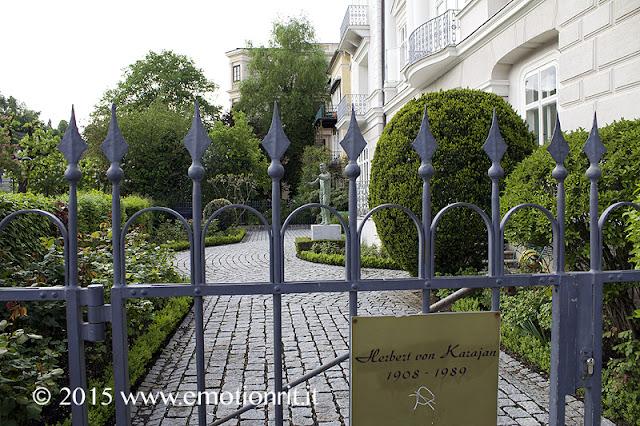 Salisburgo casa di Von Karajan