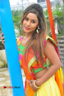 Actress Sri Reddy Pictures at Dandiya Navrang Utsav 2016 Curtain Raiser Event  0028
