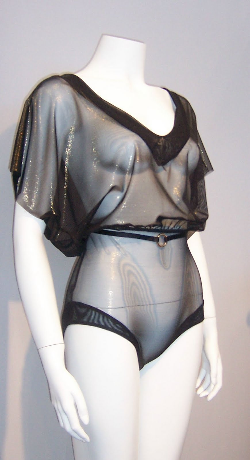 55197aea1 The stretch fabric and dolman sleeves are what will make this Shimmer Teddy  fit.