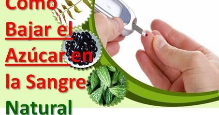 Cómo Bajar el Azúcar en la Sangre Naturalmente y Rápido
