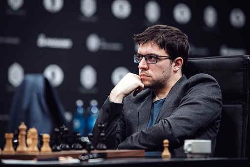 Le Français Maxime Vachier-Lagrave au Grand Prix Fide d'échecs de Moscou - Photo © Max Avdeev