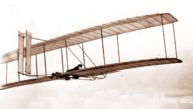 1903 - The Initial Engine Powered Flight picture