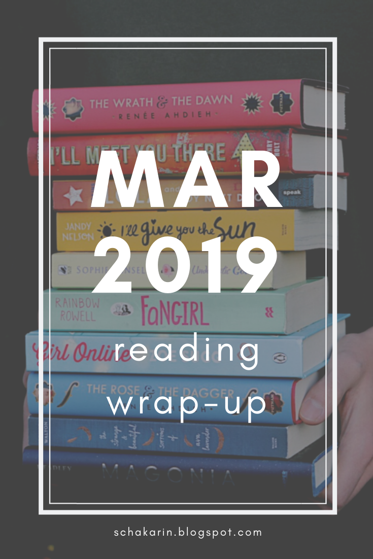 schakarin's March 2019 Reading Wrap-Up