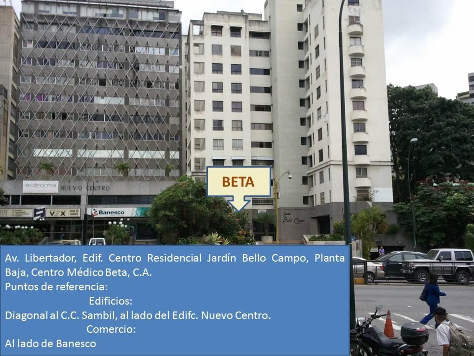 Ubicaci n gr fica del centro m dico beta c a for Centro medico ciudad jardin