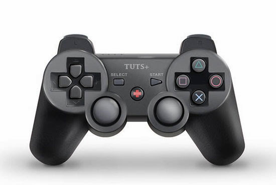 How to Draw a PlayStation-Inspired Game Controller