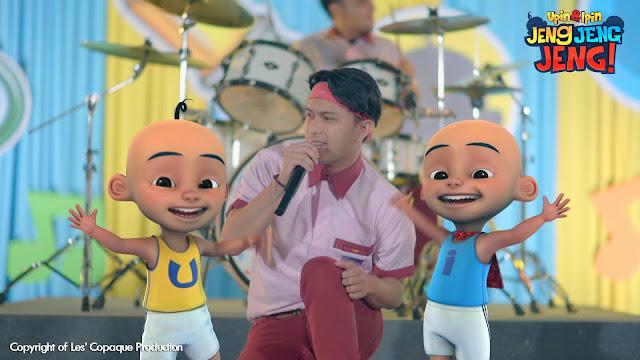 "pelancaran video muzik lagu ""Upin & Ipin Jeng, Jeng, Jeng!"""