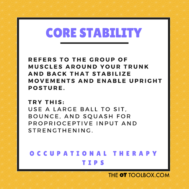 Core strengthening with music