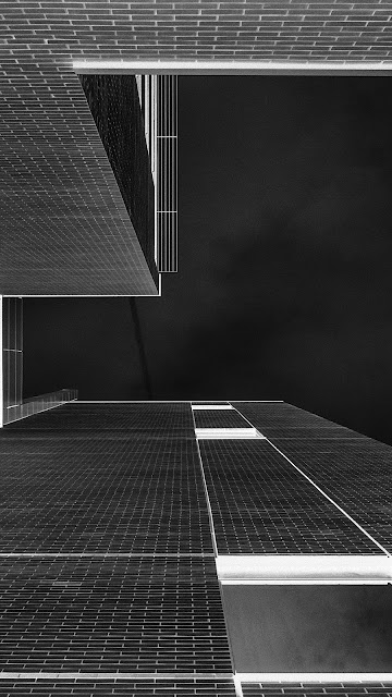 Architecture Art Bw Gray City Dark Iphone 7 And Iphone 7 Plus Hd