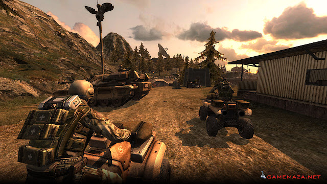 Enemy Territory Quake Wars Gameplay Screenshot 8