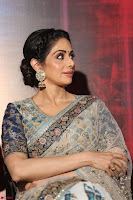Sri Devi in designer saree stunning beauty at the launch of MOM movie Trailer~  Exclusive 127.JPG