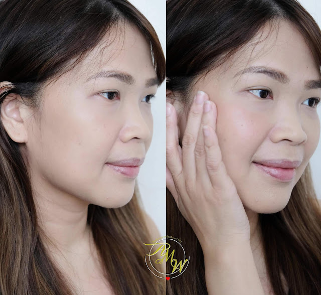 a photo of Happy Skin Active On-The-Go Blush in Glowing Review by Nikki Tiu of askmewhats.com