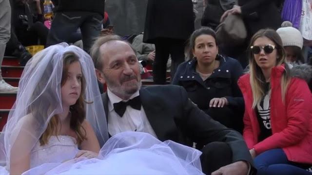 250.000 bodas de menores en EEUU en una década