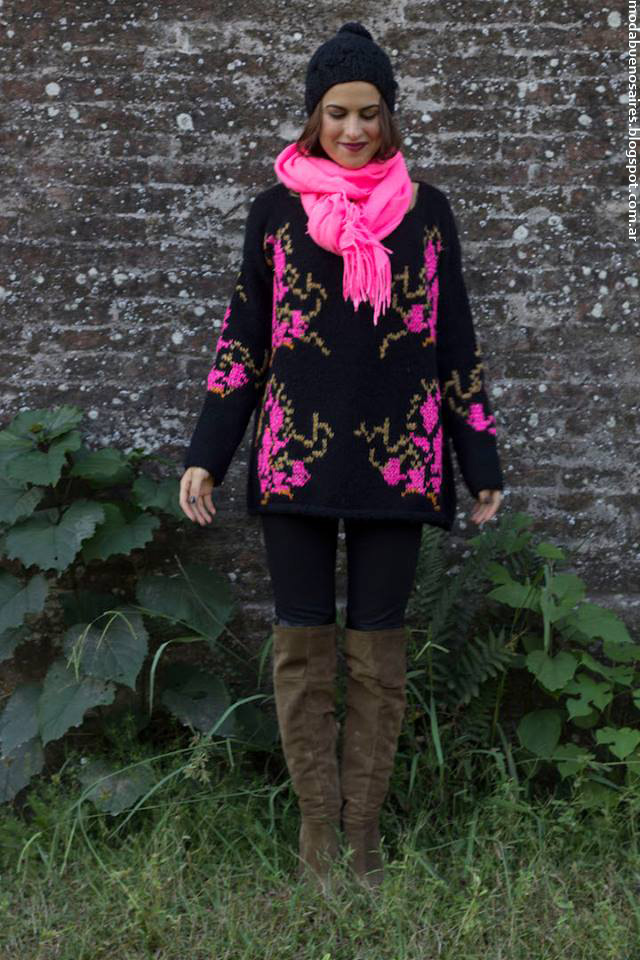 Sweaters invierno 2016 Abupatha tejidos.