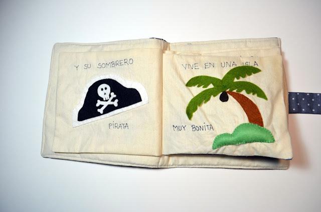 libro de tela pirata