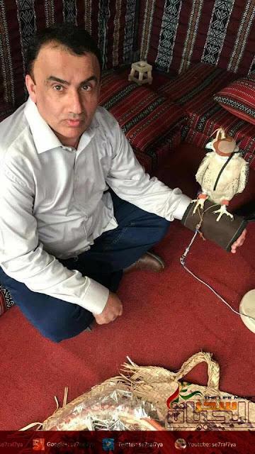 الفنان العماني محمد الصحماوي في((من مسرح الجريمة))