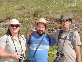 Jose Rodrigo, Marian Pomeda y Tomás Sanz