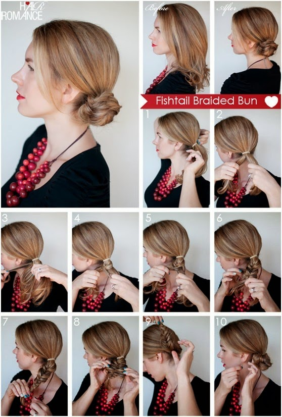 Top 5 Fishtail Braided Hairstyles Tutorials For Girl