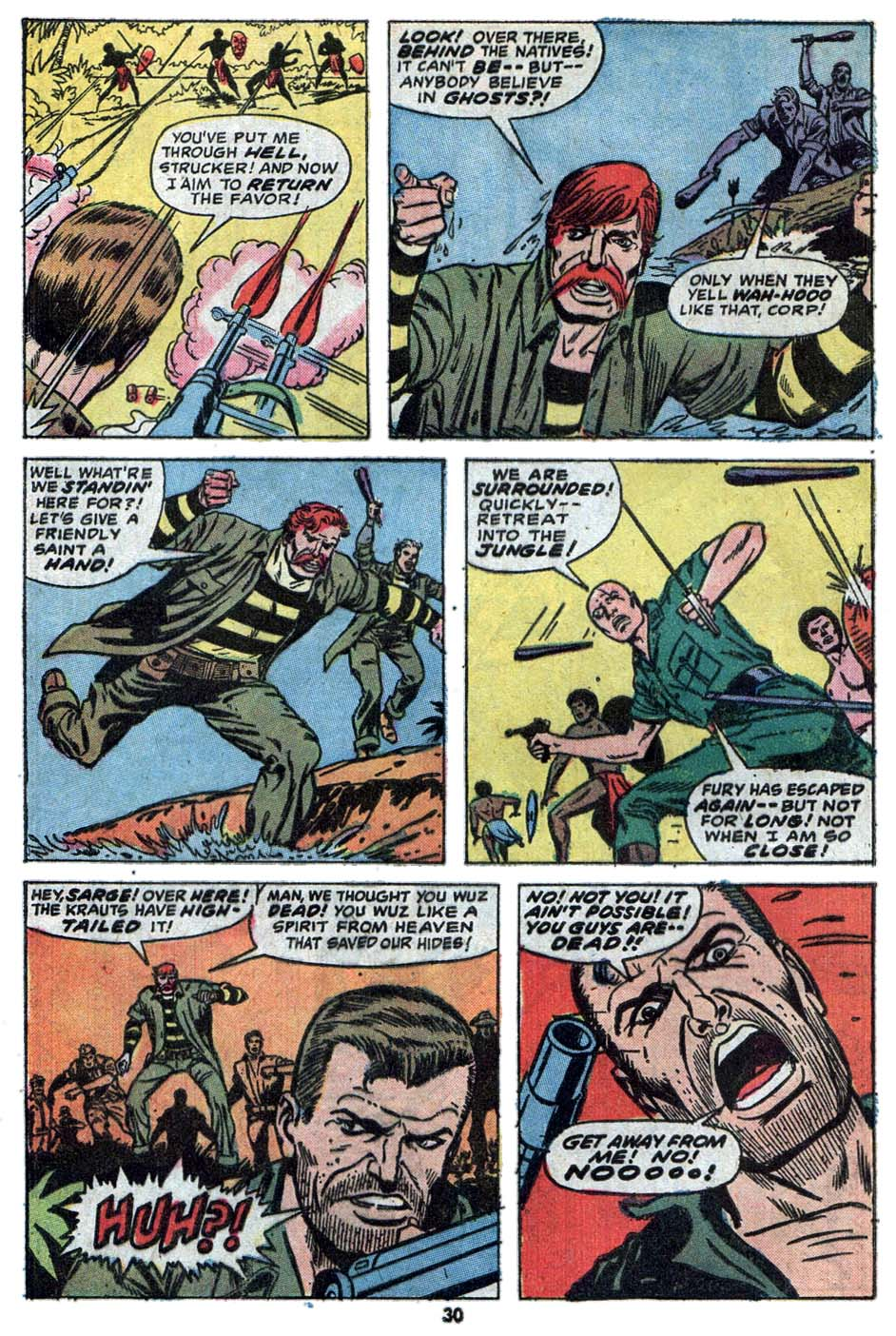 Read online Sgt. Fury comic -  Issue #114 - 32