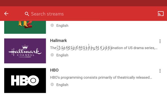 streaming tv kabel di android