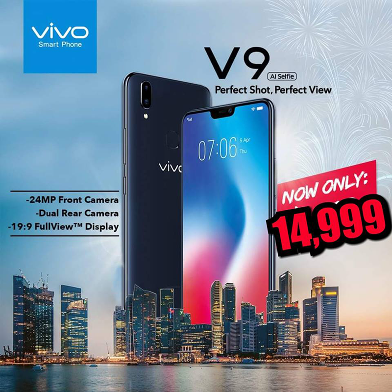 Sale Alert: Vivo V9 with 24MP selfie cam is now priced at just PHP 14,999!