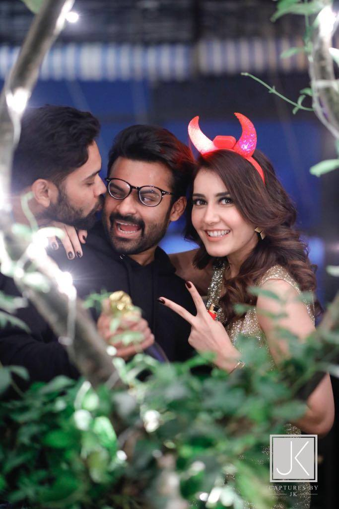 Actress Rashi Khanna Celebrates Her Birthday With Young Stars