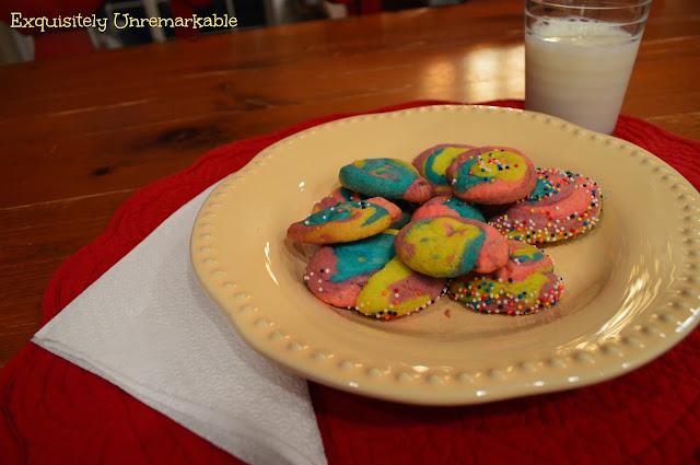 Easy Rainbow Pinwheel Cookie Recipe