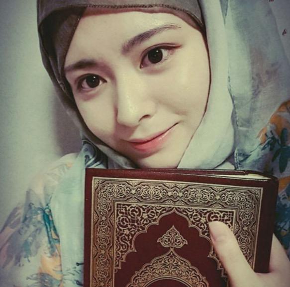Ayana, Muslimah Korea yang Cantik Menawan