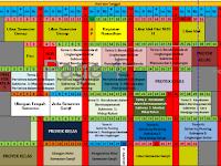 Aplikasi Jadwal Pelajaran SD,SMP,SMA Format Excel