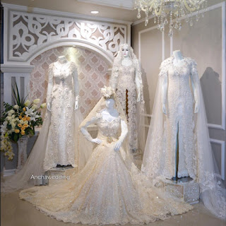 Gaun Kebaya Pesta Pernikahan