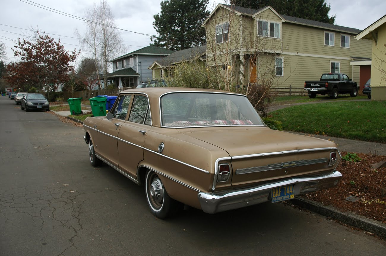 All Chevy 1964 chevy ii : OLD PARKED CARS.: Goldie-but-goodie, part 1: 1964 Chevrolet Chevy ...