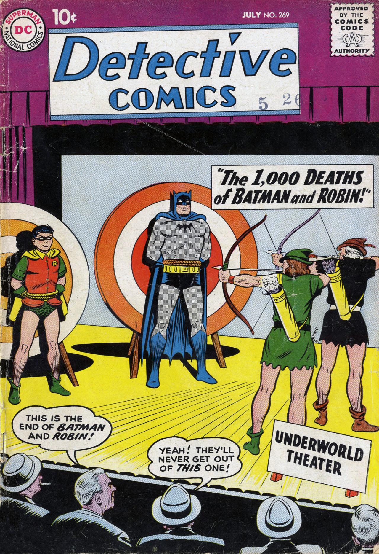 Detective Comics (1937) 269 Page 0