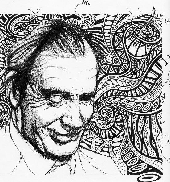 Aldous Huxley by Tristan Bristow