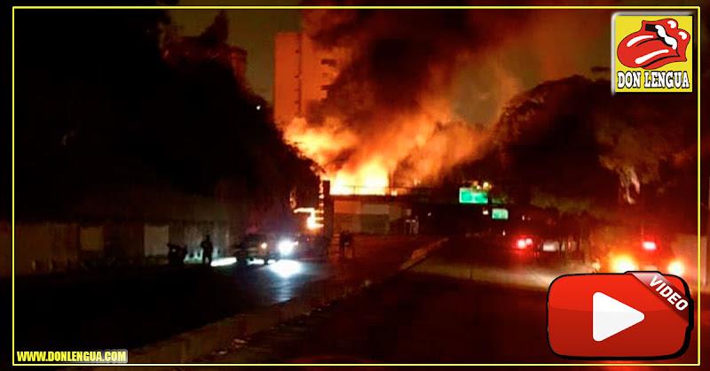 Explotó estación eléctrica de La Ciudadela en Terrazas del Club Hípico