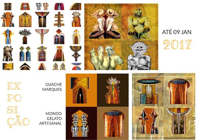Natureza Mítica, de Guache Marques, estreia na Mondo Arte
