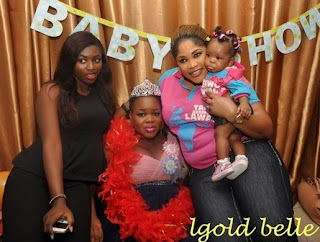 Pregnant Actress Taiwo Aromokun Gets Surprise Baby Shower From