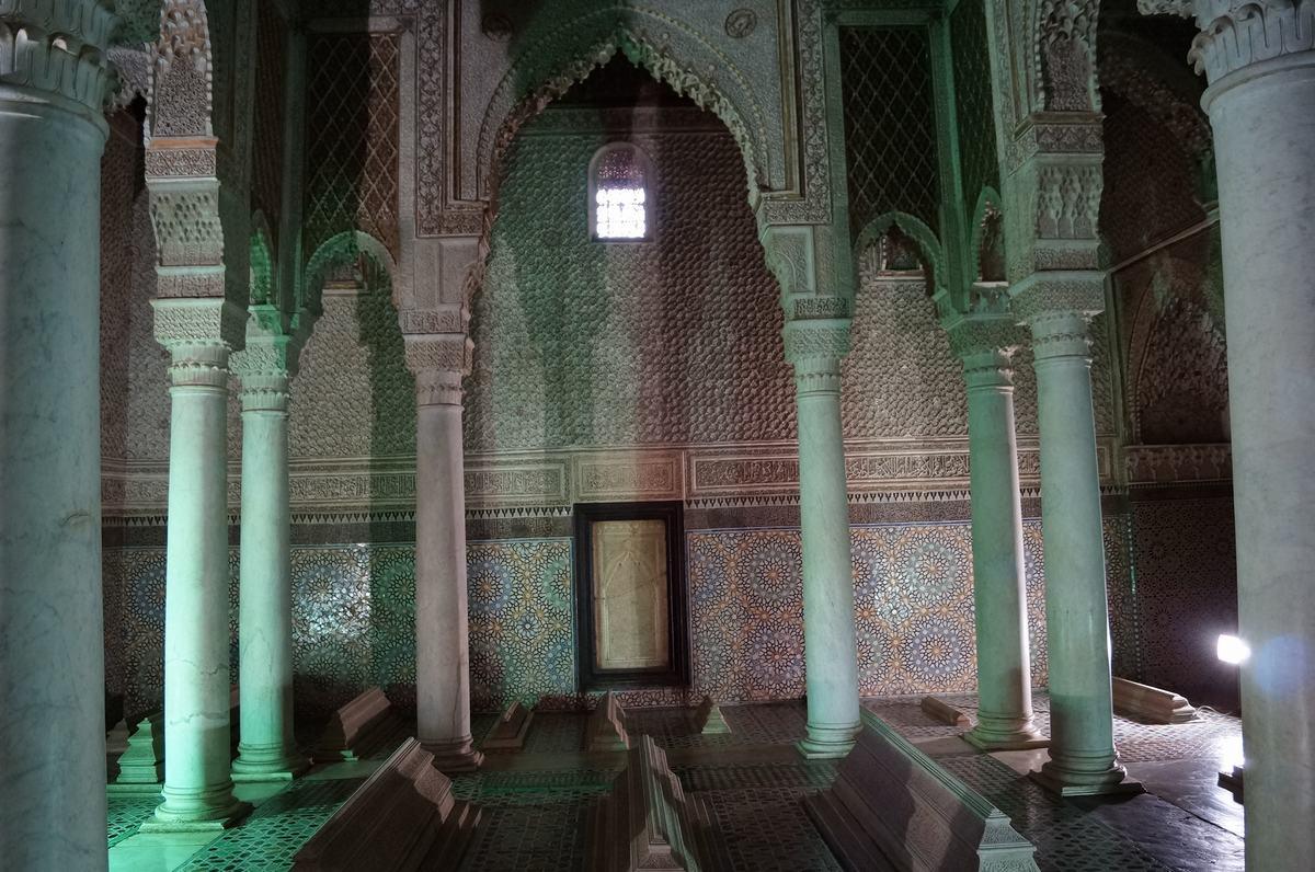 tumbas saadies, mausoleos, Mausoleo de Ahmed el Mansur