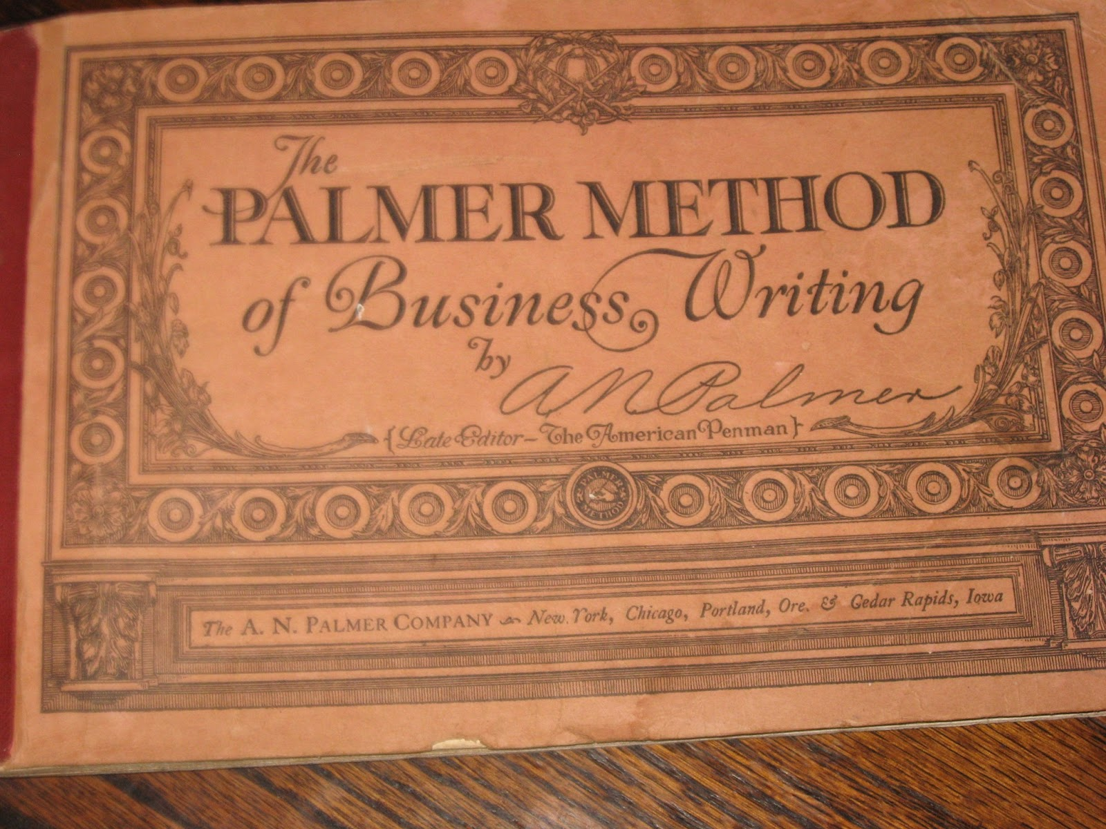 Chances R The Palmer Method Of Penmanship
