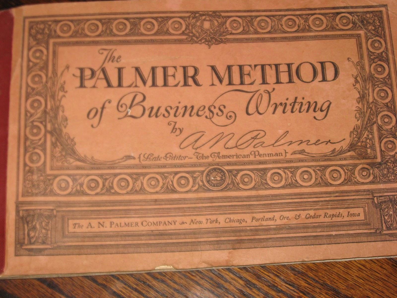 Chances R The Palmer Method Of Penmanship
