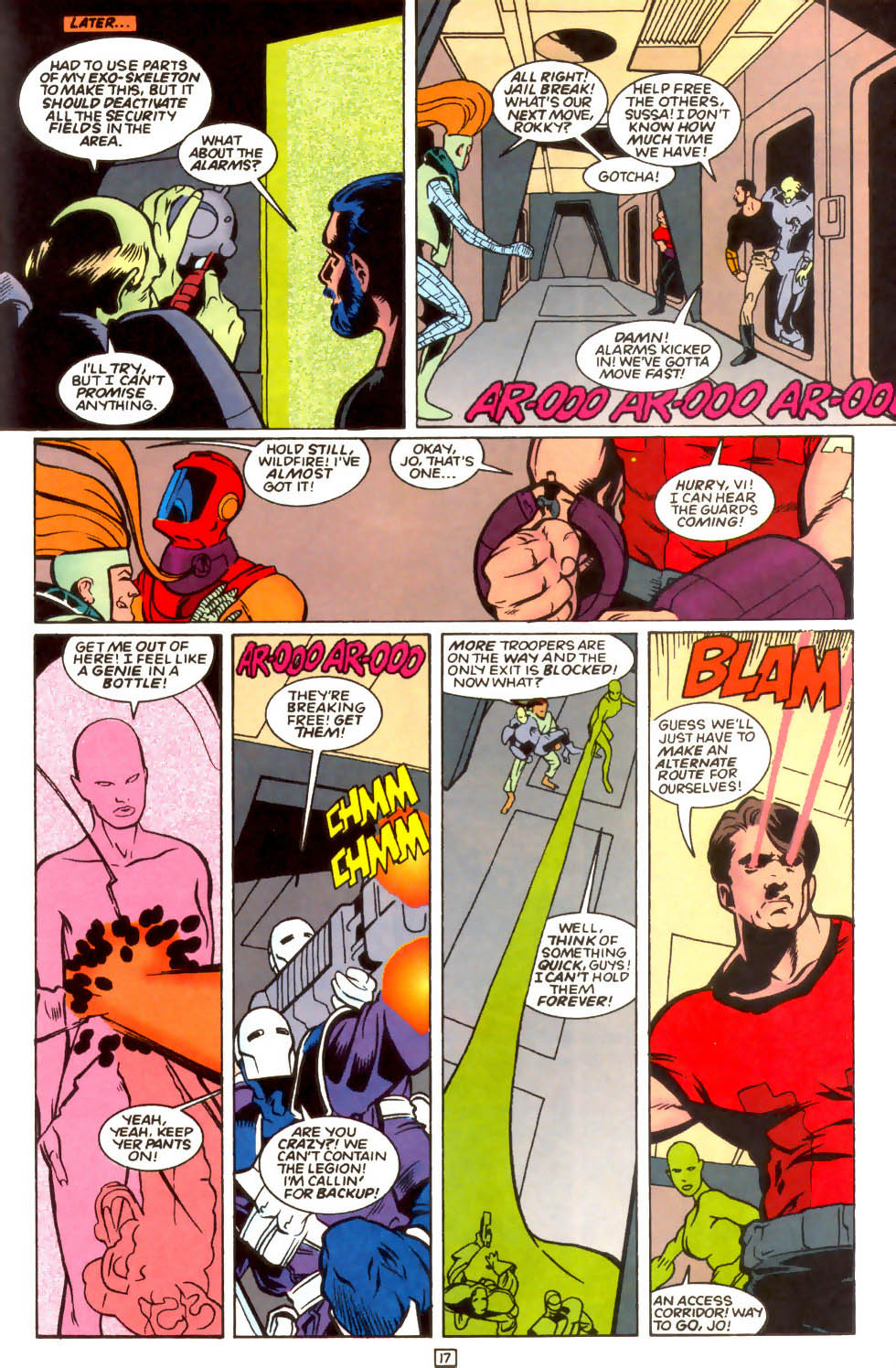 Legion of Super-Heroes (1989) 54 Page 15