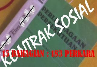 APA ITU KONTRAK SOSIAL MALAYSIA?