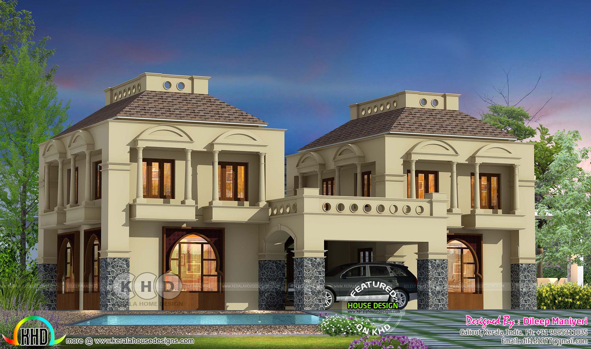 Arabic House Design Plan